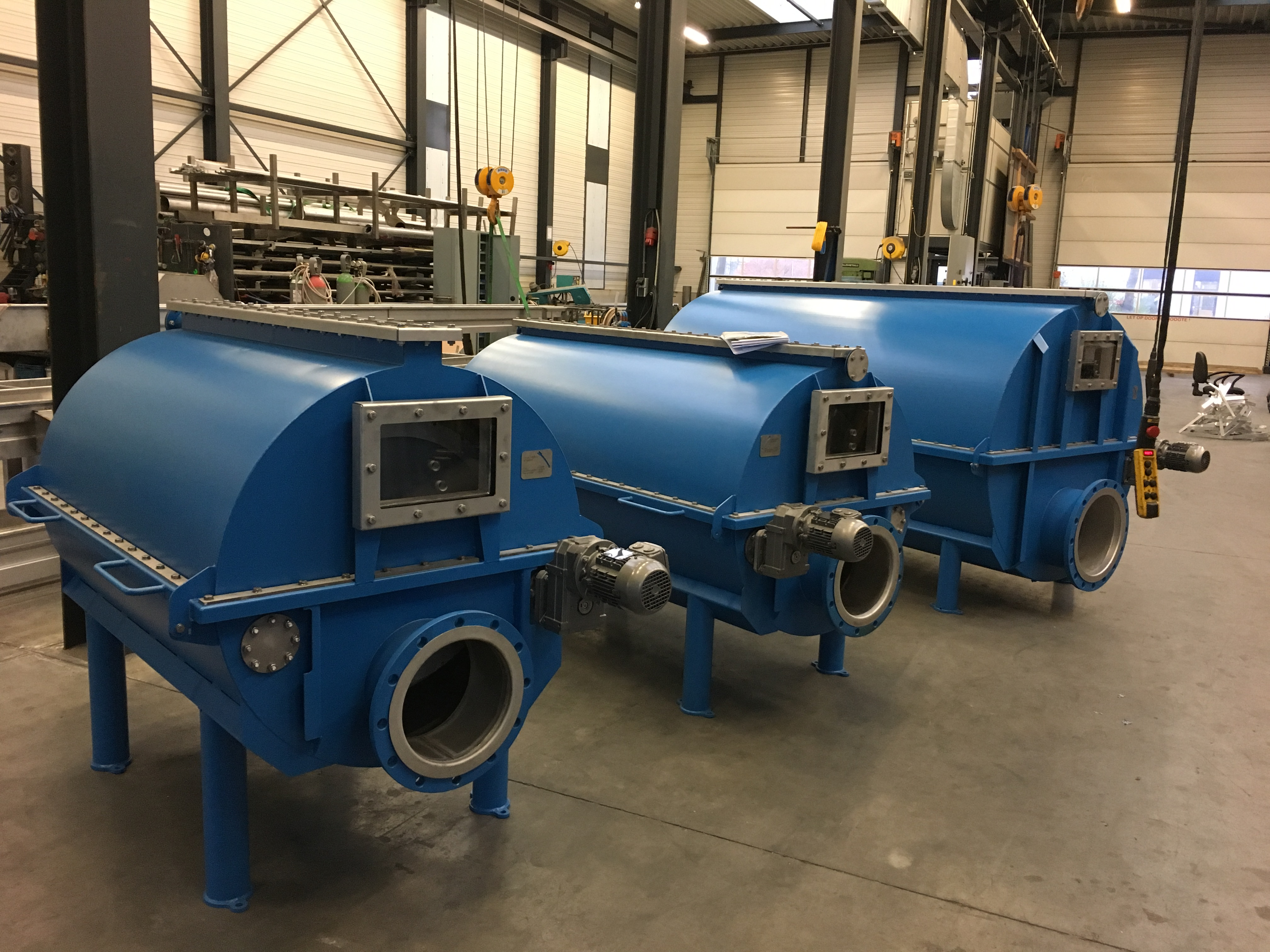 Drum Filter For Zaanstad Ready For Transport
